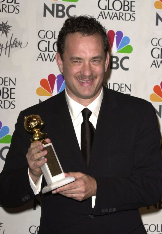 Tom Hanks during The 58th Annual Golden Globe Awards - Pressroom at Beverly Hilton Hotel in Beverly Hills, California, United States. (Photo by SGranitz/WireImage)