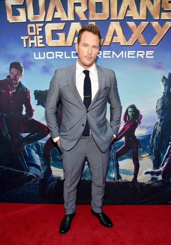 HOLLYWOOD, CA - JULY 21:  Actor Chris Pratt attends The World Premiere of Marvel?s epic space adventure ?Guardians of the Galaxy,? directed by James Gunn and presented in Dolby 3D and Dolby Atmos at the Dolby Theatre. July 21, 2014 Hollywood, CA  (Photo by Alberto E. Rodriguez/Getty Images for Disney)