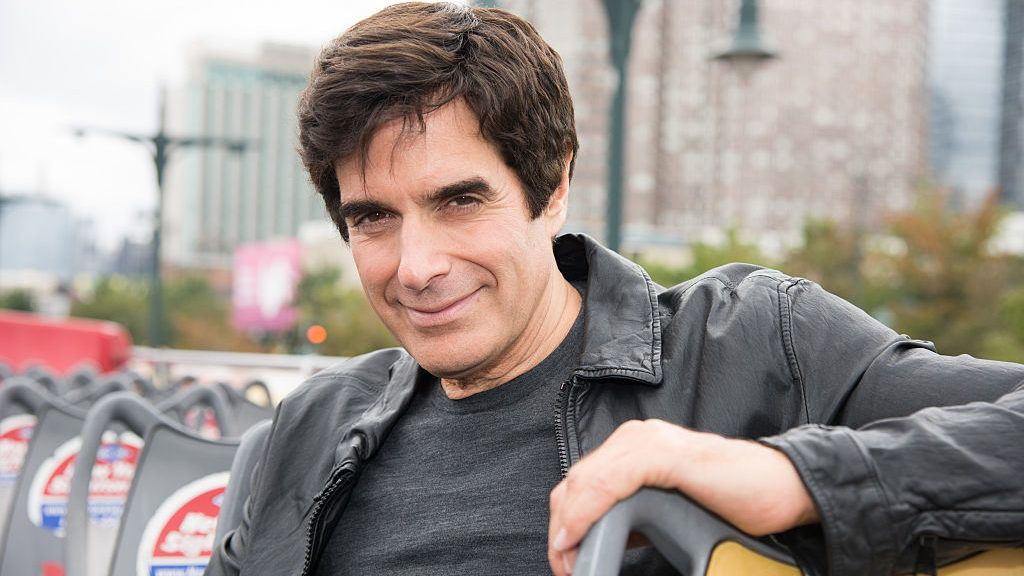 NEW YORK, NY - SEPTEMBER 11:  David Copperfield  attends the David Copperfield Ride Of Fame Induction Ceremony at Pier 78 on September 11, 2015 in New York City.  (Photo by Dave Kotinsky/Getty Images for Ride of Fame)