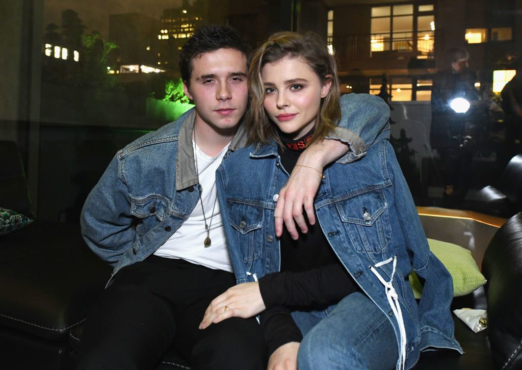 NEW YORK, NY - NOVEMBER 06:  Brooklyn Beckham (L) and Chloe Grace Moretz attend as Liam Payne, Chloe Grace Moretz, Brooklyn Beckham and Caleb McLaughlin Host Xbox One x VIP Event & Xbox Live Session on November 6, 2017 in New York City.  (Photo by Slaven Vlasic/Getty Images for Xbox)