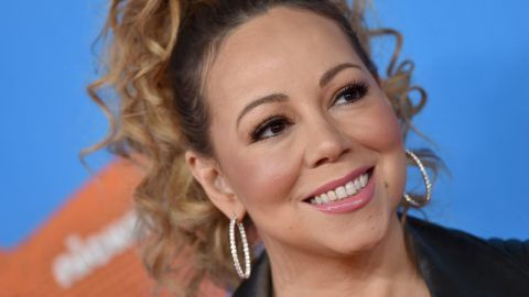 INGLEWOOD, CA - MARCH 24:  Singer Mariah Carey attends Nickelodeon's 2018 Kids' Choice Awards at The Forum on March 24, 2018 in Inglewood, California.  (Photo by Axelle/Bauer-Griffin/FilmMagic)