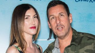 NEW YORK, NY - APRIL 23:  Actress Jackie Sandler and actor/comedian Adam Sandler attend 'The Week Of' New York Premiere at AMC Loews Lincoln Square on April 23, 2018 in New York City.  (Photo by Gilbert Carrasquillo/FilmMagic)