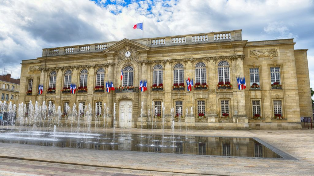 City hall in Beauvais, Picardy; France