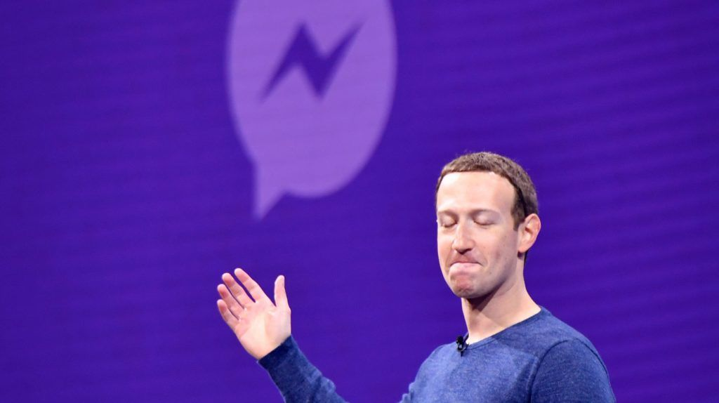 Facebook CEO Mark Zuckerberg speaks during the annual F8 summit at the San Jose McEnery Convention Center in San Jose, California on May 01, 2018. Facebook chief Mark Zuckerberg announced the world's largest social network will soon include a new dating feature -- while vowing to make privacy protection its top priority in the wake of the Cambridge Analytica scandal. / AFP PHOTO / JOSH EDELSON