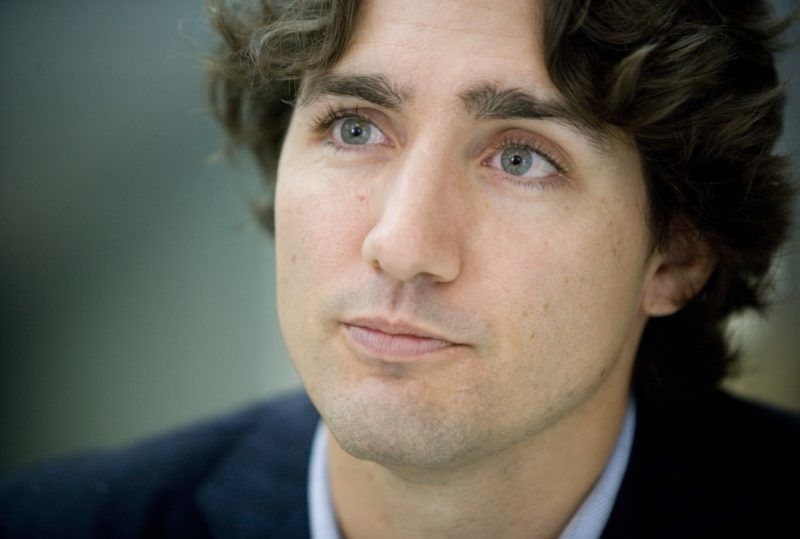 Justin Trudeau, son of former Canadian Prime Minister Pierre Trudeau and candidate for the Liberal Party in Montreal, is seen during an interview in his campaign office on October 12, 2008 in Montreal, two days before the federal elections on October 14. One of three sons of Pierre Elliott Trudeau, prime minister of Canada from 1968 to 1979, and 1980 to 1984, Justin Trudeau swapped a teaching career for a chance to represent his father's Liberals in the Montreal electoral district of Papineau, and win it back from the separatists who took it in 2006.    AFP PHOTO/David BOILY / AFP PHOTO / DAVID BOILY