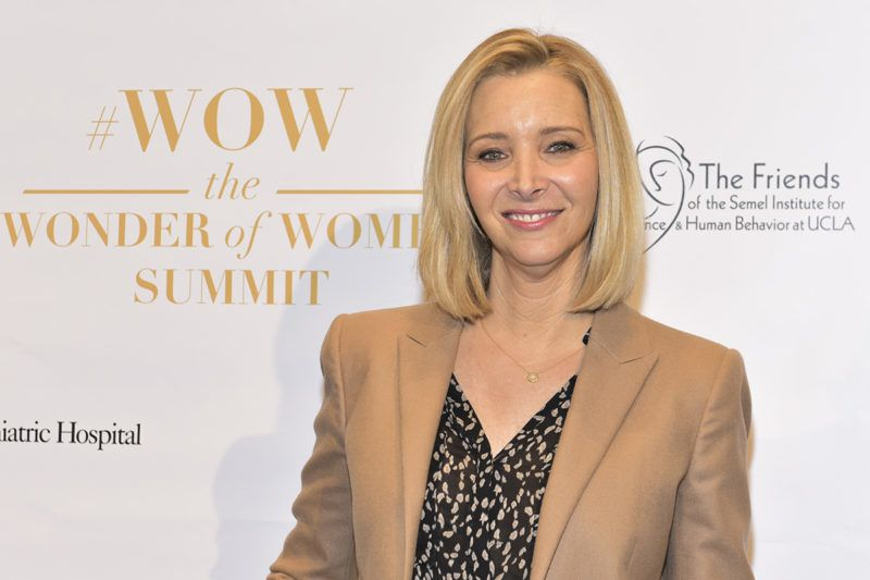 LOS ANGELES, CA - MAY 02: Actress/producer Lisa Kudrow arrives at The Wonder of Women Summit at UCLA on May 2, 2018 in Los Angeles, California.   Rodin Eckenroth/Getty Images/AFP