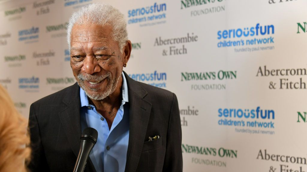 NEW YORK, NY - MAY 21: Morgan Freeman attends the 2018 SeriousFun Children's Network Gala at The Ziegfeld Ballroom on May 21, 2018 in New York City.   Michael Loccisano/Getty Images for SeriousFun/AFP