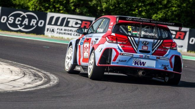 05 MICHELISZ Norbert (HUN), BRC Racing Team, Hyundai i30 N TCR, action during the 2018 FIA WTCR World Touring Car cup, Race of Hungary at hungaroring, Budapest from april 27 to 29 - Photo Thomas Fenetre / DPPI