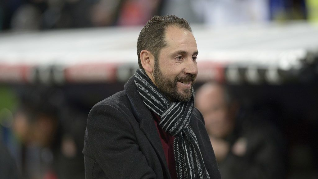 Pablo Machin coach of Girona during a match between Real Madrid vs Girona FC at Santiago Bernabeu Stadium on March 18, 2018 in Madrid, Spain. (Photo by Patricio Realpe/ChakanaNews/NurPhoto)