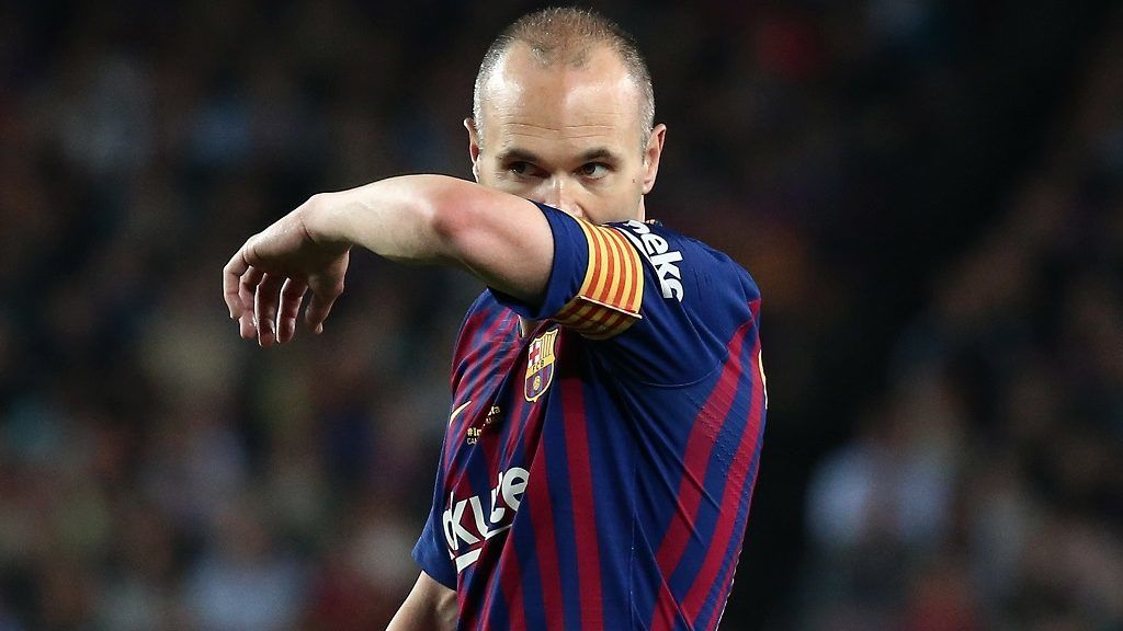 Andres Iniesta during the match between FC Barcelona and Real Sociedad, played at the Camp Nou Stadium on 20th May 2018 in Barcelona, Spain.    -- (Photo by Urbanandsport/NurPhoto)