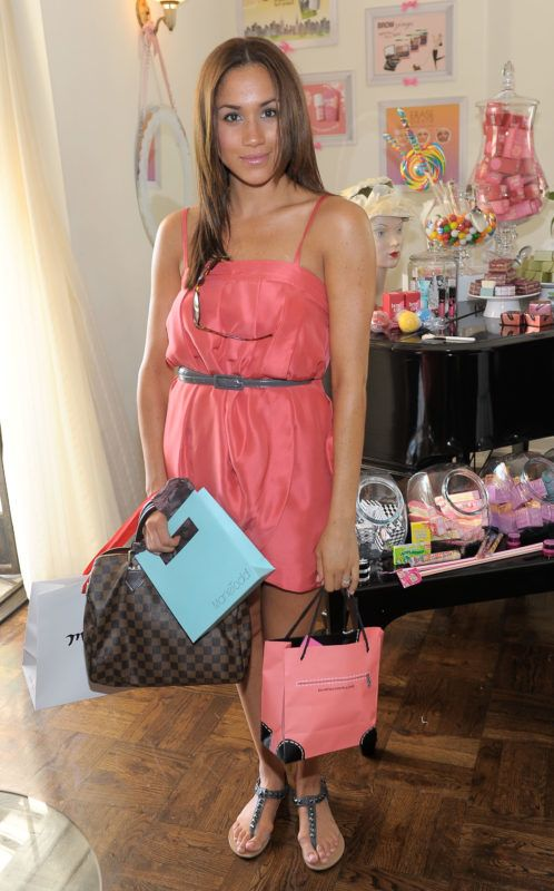 LOS ANGELES, CA - AUGUST 26:  Actress Meghan Markle attends the Some Kind-a Gorgeous Style and Beauty Lounge at the Chateau Marmont on August 26, 2010 in Los Angeles, California.  (Photo by Charley Gallay/Getty Images For Benefit Cosmetics)