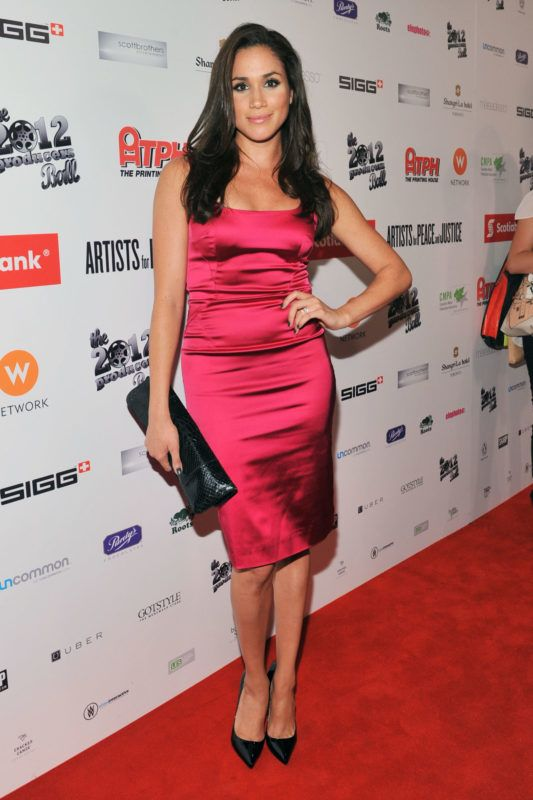 TORONTO, ON - SEPTEMBER 05:  Actress Meghan Markle attends the Rising Stars: 2012 Producers Ball during the 2012 Toronto International Film Festival on September 5, 2012 in Toronto, Canada.  (Photo by Sonia Recchia/Getty Images)