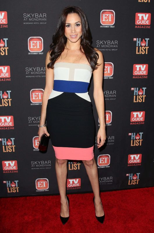 WEST HOLLYWOOD, CA - NOVEMBER 12:  Actress Meghan Markle attends TV Guide Magazine's 2012 Hot List Party at SkyBar at the Mondrian Los Angeles on November 12, 2012 in West Hollywood, California.  (Photo by David Livingston/Getty Images)