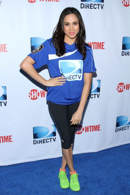 NEW YORK, NY - FEBRUARY 01:  Meghan Markle attends the DirecTV Beach Bowl at Pier 40 on February 1, 2014 in New York City.  (Photo by Rob Kim/Getty Images for DirecTV)
