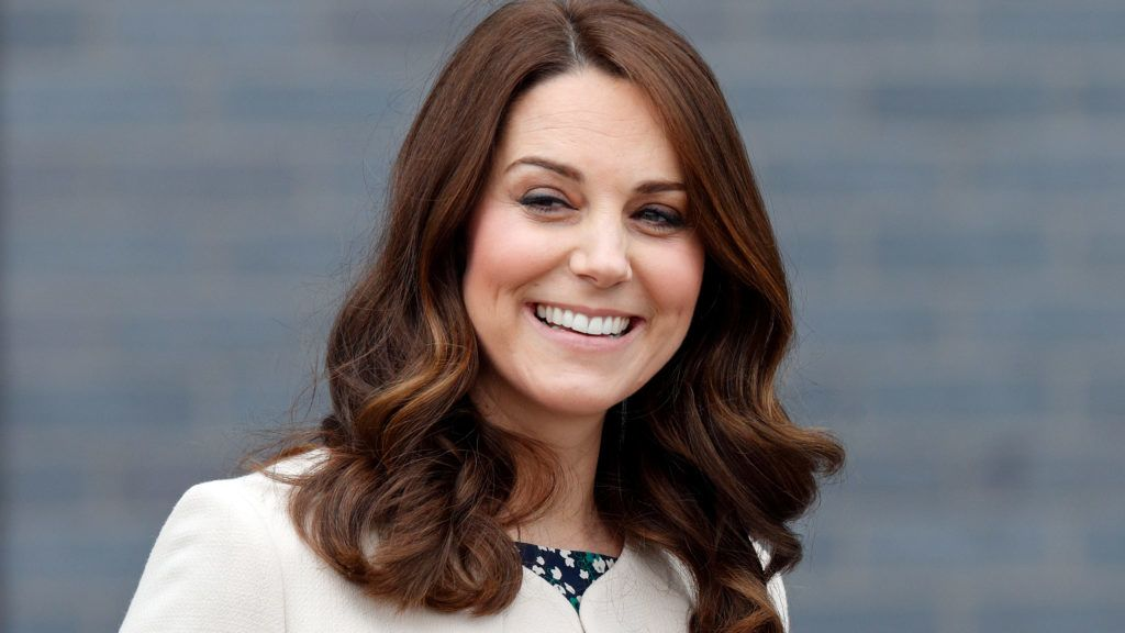LONDON, UNITED KINGDOM - MARCH 22: (EMBARGOED FOR PUBLICATION IN UK NEWSPAPERS UNTIL 24 HOURS AFTER CREATE DATE AND TIME) Catherine, Duchess of Cambridge attends a SportsAid event at the Copper Box Arena in Queen Elizabeth Olympic Park on March 22, 2018 in London, England. (Photo by Max Mumby/Indigo/Getty Images) *** Local Caption *** Catherine, Duchess of Cambridge