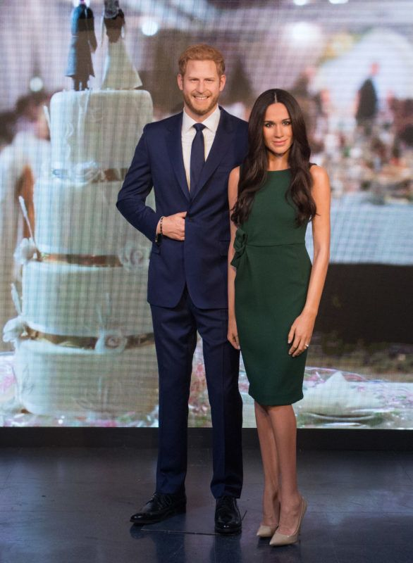 LONDON, ENGLAND - MAY 09:  Madame Tussauds unveils a wax figure of Ms. Meghan Markle ahead of her wedding to Prince Harry on May 19 at Madame Tussauds on May 9, 2018 in London, England.  (Photo by Samir Hussein/Samir Hussein/WireImage)