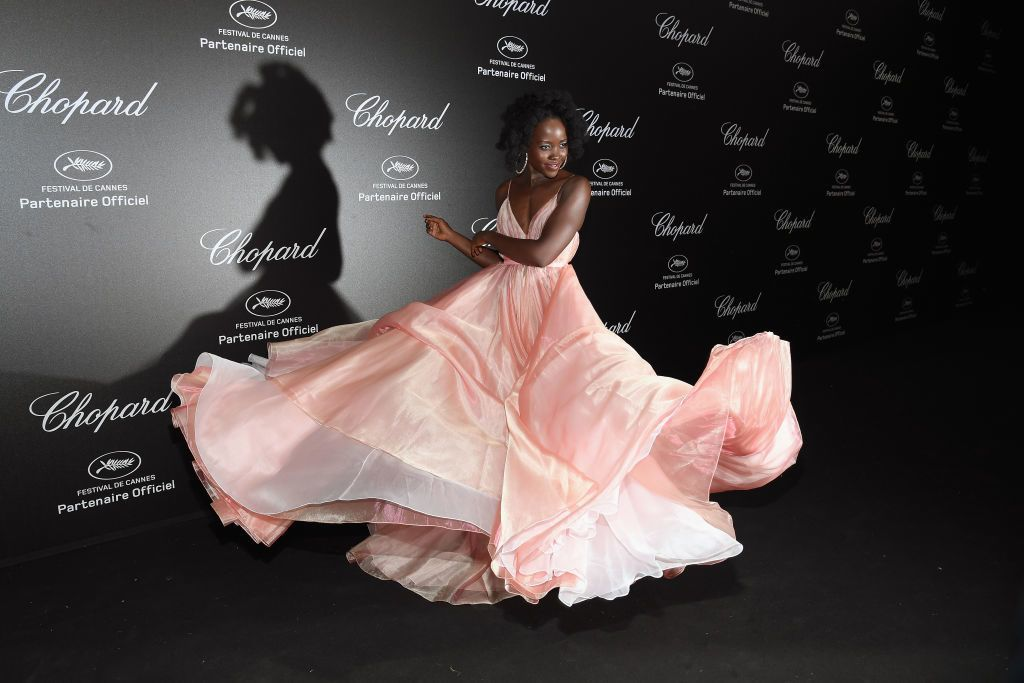 CANNES, FRANCE - MAY 11:  Lupita Nyong'o attends Chopard Secret Night during the 71st annual Cannes Film Festival at Chateau de la Croix des Gardes on May 11, 2018 in Cannes, France.  (Photo by Pascal Le Segretain/Getty Images for Chopard)