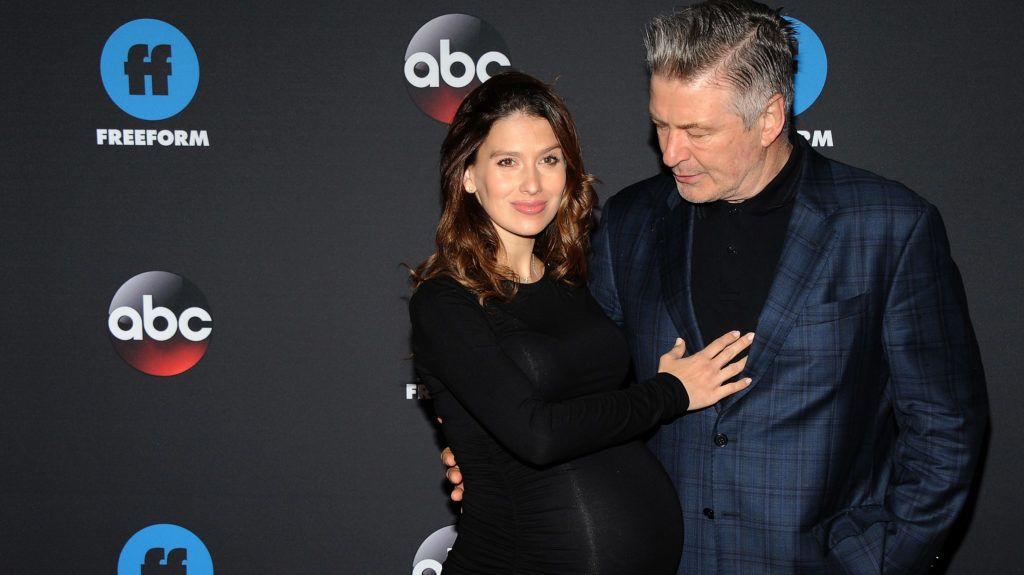 NEW YORK, NY - MAY 15: Hilaria Baldwin and Alec Baldwin attend the 2018 Disney, ABC, Freeform Upfront on May 15, 2018 in New York City.  (Photo by Desiree Navarro/WireImage)