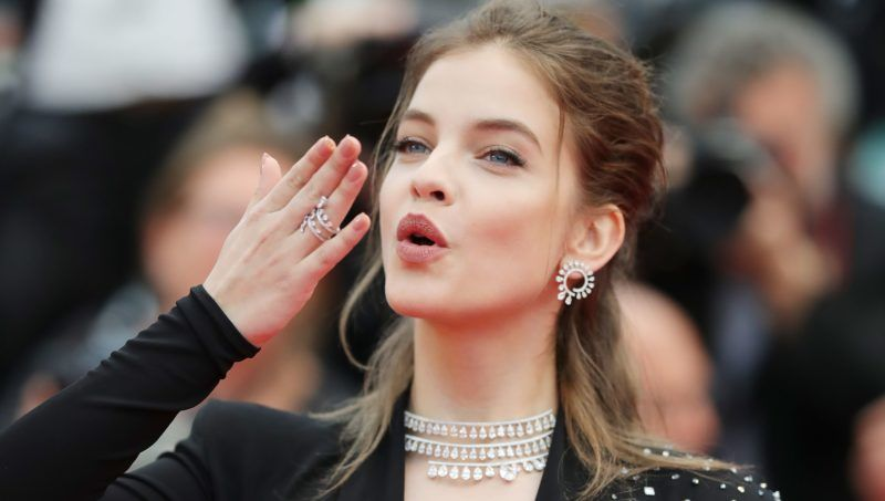 """CANNES, FRANCE - MAY 16:  Model Barbara Palvin attends the screening of """"Burning"""" during the 71st annual Cannes Film Festival at Palais des Festivals on May 16, 2018 in Cannes, France.  (Photo by Andreas Rentz/Getty Images)"""