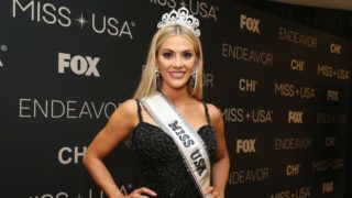 SHREVEPORT, LA - MAY 21:  Miss Nebraska Sarah Rose Summers poses for a photo after winning the 2018 Miss USA Competition at George's Pond at Hirsch Coliseum on May 21, 2018 in Shreveport, Louisiana.  (Photo by Matt Sullivan/Getty Images)
