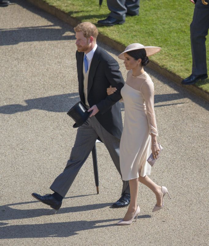 LONDON, ENGLAND - MAY 22:  Prince Harry, Duke of Sussex and Meghan, Duchess of Sussex attend The Prince of Wales' 70th Birthday Patronage Celebration held at Buckingham Palace on May 22, 2018 in London, England. (Photo by Ian Vogler-WPA Pool/Getty Images)