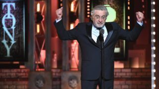NEW YORK, NY - JUNE 10: Robert De Niro speaks onstage during the 72nd Annual Tony Awards at Radio City Music Hall on June 10, 2018 in New York City.   Theo Wargo/Getty Images for Tony Awards Productions/AFP