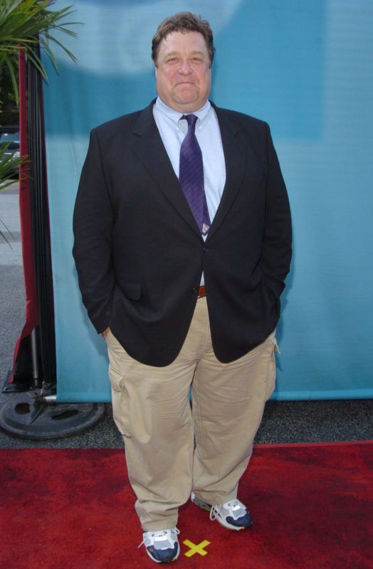 John Goodman during CBS Primetime 2004-2005 UpFront - Party at Tavern on the Green in New York City, New York, United States. (Photo by Lawrence Lucier/FilmMagic)