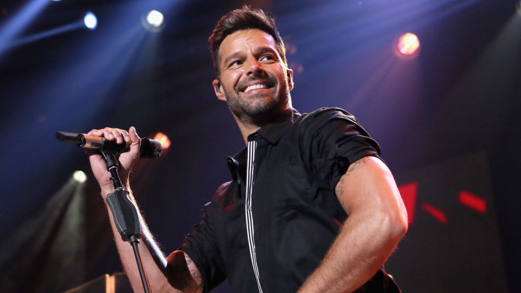 BURBANK, CA - FEBRUARY 10:  Ricky Martin on the Honda Stage at the iHeartRadio Theater Los Angeles on February 10, 2015 in Burbank, California.  (Photo by Mike Windle/Getty Images for iHeartMedia)