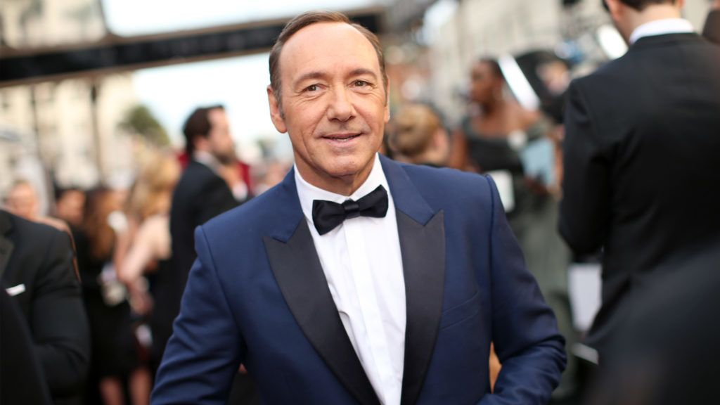 HOLLYWOOD, CA - MARCH 02:  Actor Kevin Spacey attends the Oscars held at Hollywood & Highland Center on March 2, 2014 in Hollywood, California.  (Photo by Christopher Polk/Getty Images)