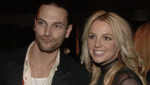 Kevin Federline and Britney Spears (Photo by Larry Busacca/WireImage for Sony BMG Music Entertainment)
