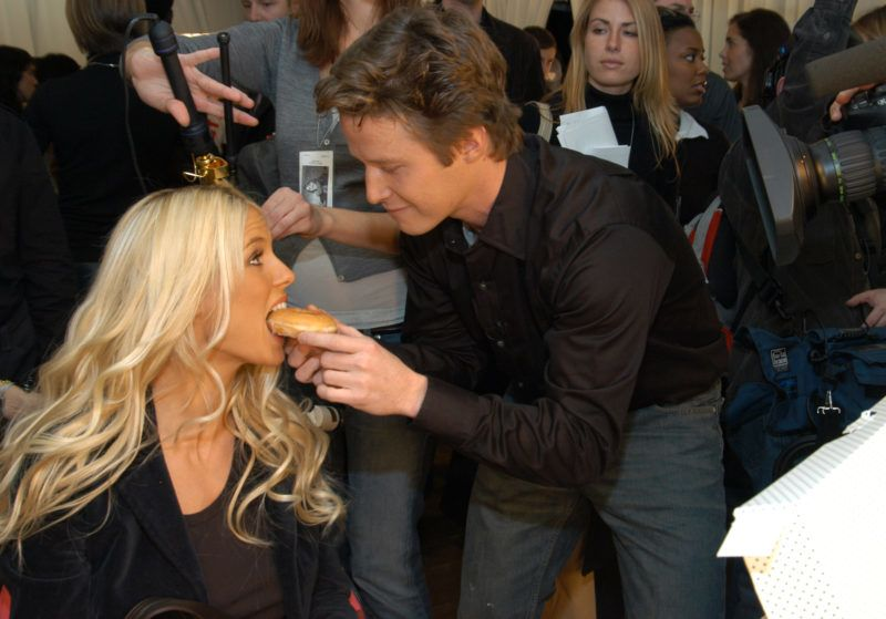Heidi Klum and Billy Bush (Photo by Kevin Mazur Archive 1/WireImage for Full Picture)
