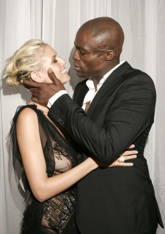 Heidi Klum and Seal (Photo by KMazur/WireImage for ABC Television Network)