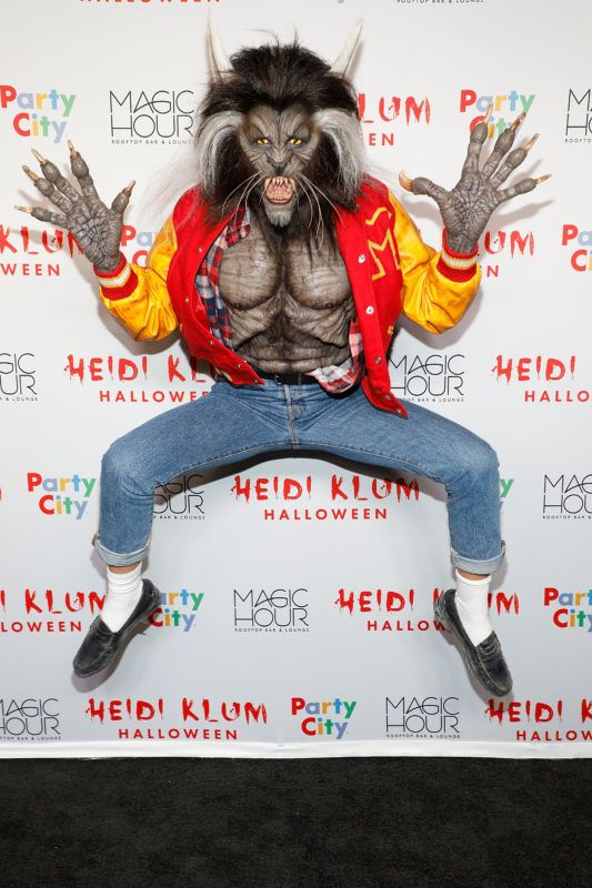 NEW YORK, NY - OCTOBER 31:  Heidi Klum attends her 18th Annual Halloween Party at Magic Hour Rooftop Bar & Lounge on October 31, 2017 in New York City.  (Photo by Taylor Hill/Getty Images)