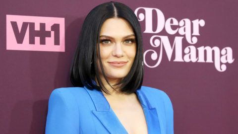 """LOS ANGELES, CA - MAY 03:  Jessie J arrives to VH1's 3rd Annual """"Dear Mama: A Love Letter To Moms"""" held at The Theatre at Ace Hotel on May 3, 2018 in Los Angeles, California.  (Photo by Michael Tran/FilmMagic)"""