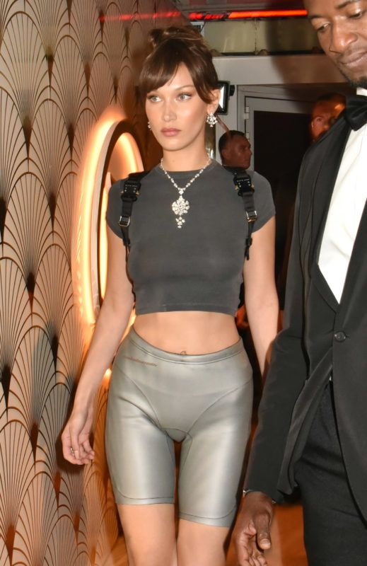"""CANNES, FRANCE - MAY 12:  Bella Hadid attends the """"Le Monde Est A Toi"""" Party during the 71st annual Cannes Film Festival at Magnum Beach on May 12, 2018 in Cannes, France.  (Photo by Foc Kan/FilmMagic)"""