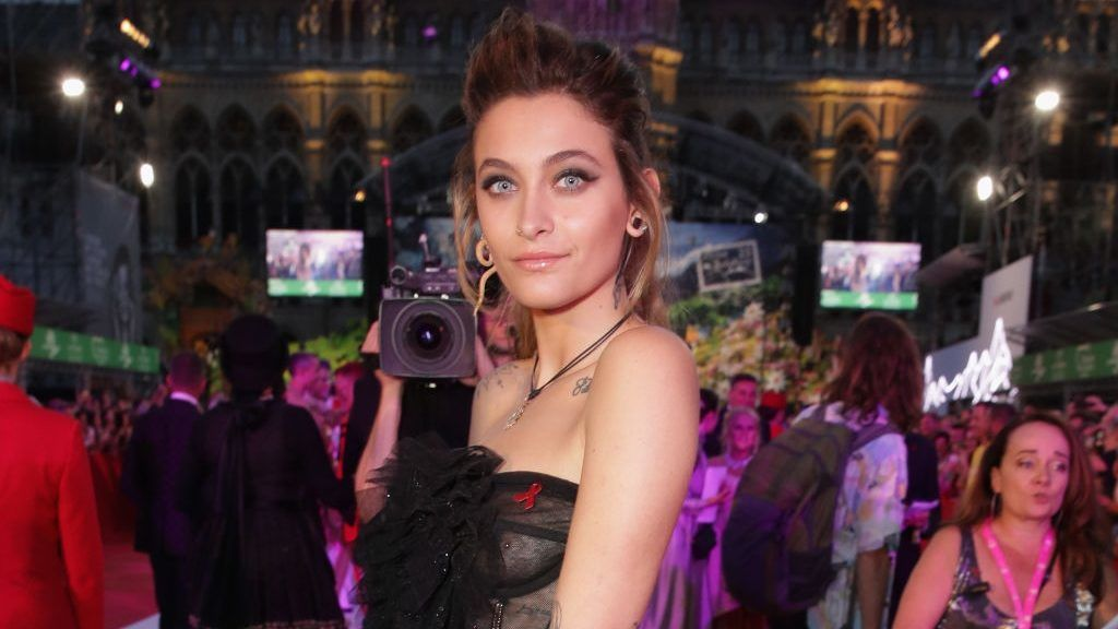 VIENNA, AUSTRIA - JUNE 02: Paris Jackson arrives for the Life Ball 2018 at City Hall on June 2, 2018 in Vienna, Austria. The Life Ball, an annual charity event raising funds for HIV & AIDS projects, celebrates its 25th anniversary this year at Vienna's City Hall.  (Photo by Andreas Rentz/Life Ball 2018/Getty Images)