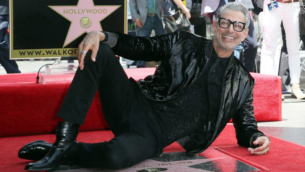 HOLLYWOOD, CA - JUNE 14:  Actor Jeff Goldblum attends his being honored with a Star on the Hollywood Walk of Fame on June 14, 2018 in Hollywood, California.  (Photo by David Livingston/Getty Images)