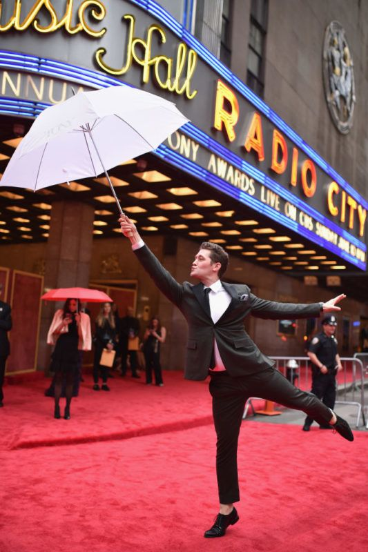 NEW YORK, NY - JUNE 10: Matthew Morrison attends the 72nd Annual Tony Awards at Radio City Music Hall on June 10, 2018 in New York City.  (Photo by Bryan Bedder/Getty Images for Tony Awards Productions   )