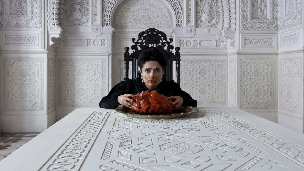 Tale of Tales Il racconto dei racconti Year : 2015 Italy / France / UK Director : Matteo Garrone Salma Hayek. It is forbidden to reproduce the photograph out of context of the promotion of the film. It must be credited to the Film Company and/or the photographer assigned by or authorized by/allowed on the set by the Film Company. Restricted to Editorial Use. Photo12 does not grant publicity rights of the persons represented.