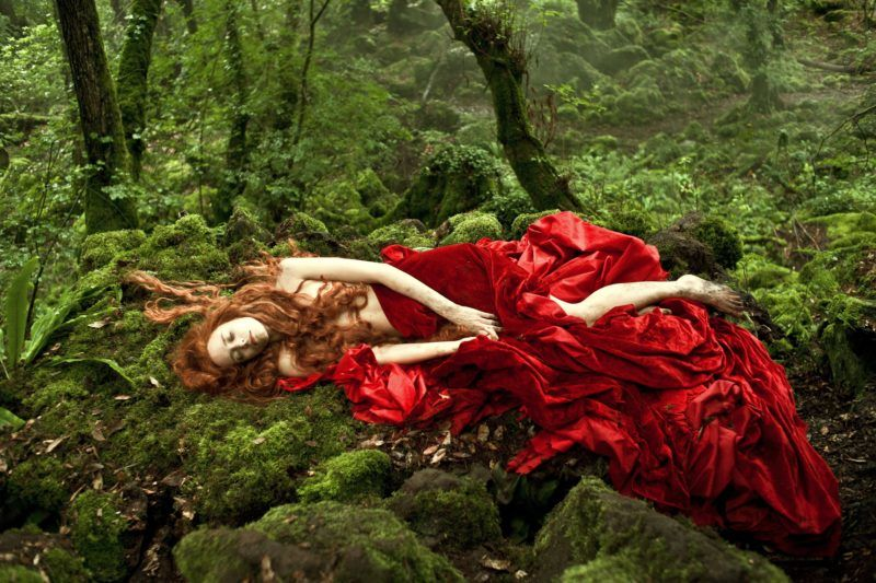 Tale of Tales Il racconto dei racconti Year : 2015 Italy / France / UK Director : Matteo Garrone Stacy Martin Photo: Greta De Lazzaris. It is forbidden to reproduce the photograph out of context of the promotion of the film. It must be credited to the Film Company and/or the photographer assigned by or authorized by/allowed on the set by the Film Company. Restricted to Editorial Use. Photo12 does not grant publicity rights of the persons represented.