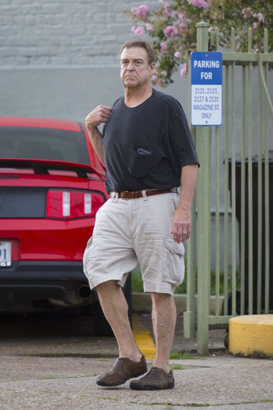 """EXCLUSIVE: John Goodman fuels up as its announced that there will be a  Roseanne  spin off called  The Conners . The new star of the show casually took things in his stride as he was seen pumping gas in his vehicle and stopping into a smoke shop. """"The Connors"""" (working title) will star John Goodman along side his co-actors Sara Gilbert, Laurie Metcalf, Lecy Goranson and Michael Fishman. ABC officially announced the new spin off will not feature Rosanne Barr and will  force the Conner family to face the daily struggles of life, in Landford, in a way they never have before.  The news comes 3 weeks after the highly popular show  Rosanne  show was canceled due to a racist tweet Rosanne Bar posted about a former Barack Obama advisor Valerie Jarrett. Pix taken June 17. 17 Jun 2018 Pictured: John Goodman. Photo credit: MEGA  TheMegaAgency.com +1 888 505 6342 June  2018  *** Local Caption *** MEGA243847_002"""