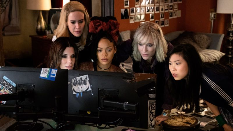 Ocean s 8Ocean s eight2018Real  Gary RossCate BlanchetSandra BullockRobyn Rihanna FentyAwkwafinaSarah Paulson.Collection Christophel © Warner Bros / Village roadshow pictures / Rahway road productions / Smokehouse pictures