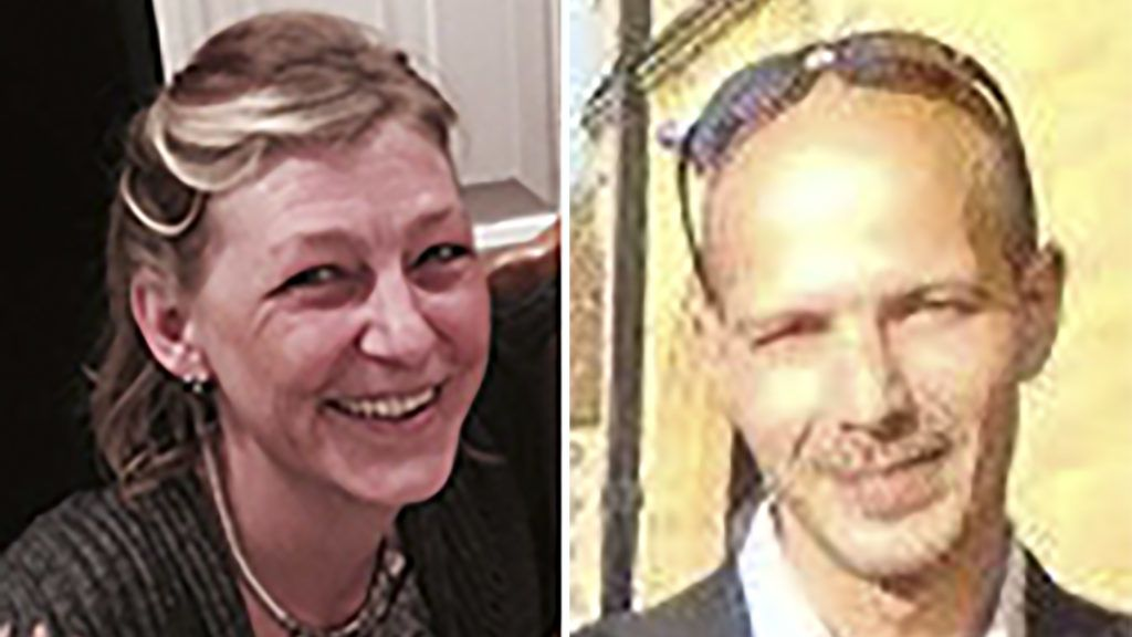 """A combination of undated pictures taken from the facebook page of Dawn Sturgess (L) and Charles Rowley (R) on July 9, 2018 shows Dawn Sturgess posing for a photograph in an unknown location British police launched a murder inquiry Sunday after a woman died following exposure to the nerve agent Novichok in southwest England, four months after the same type of chemical was used against a former Russian spy in an attack blamed on Moscow. Prime Minister Theresa May said she was """"appalled and shocked"""" by the death of Dawn Sturgess, a 44-year-old mother of three, and offered her condolences to the family. Sturgess and a man named locally as Charlie Rowley, 45, fell ill last weekend in Amesbury, near the town of Salisbury where former double agent Sergei Skripal and his daughter Yulia were attacked with Novichok in March and have since recovered.  / AFP PHOTO / FACEBOOK PAGE OF DAWN STURGESS AND FACEBOOK PAGE OF CHARLES ROWLEY / - / RESTRICTED TO EDITORIAL USE - MANDATORY CREDIT """"AFP PHOTO / FACEBOOK PAGES OF DAWN STURGESS AND CHARLES ROWLEY """" - NO MARKETING NO ADVERTISING CAMPAIGNS - RESTRICTED TO SUBSCRIPTION USE - NO ARCHIVES - NO SALES - DISTRIBUTED AS A SERVICE TO CLIENTS   /"""