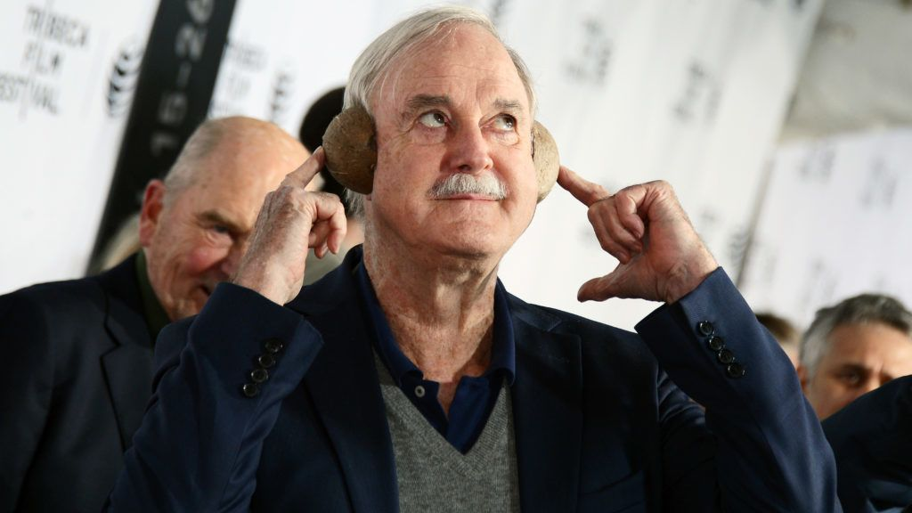 """NEW YORK, NY - APRIL 24:  Actor John Cleese attends the """"Monty Python And The Holy Grail"""" Special Screening during the 2015 Tribeca Film Festival at Beacon Theatre on April 24, 2015 in New York City.  (Photo by Stephen Lovekin/Getty Images for the 2015 Tribeca Film Festival)"""
