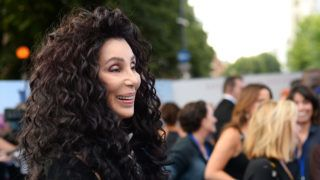 """LONDON, ENGLAND - JULY 16:  Cher attends the """"Mamma Mia! Here We Go Again"""" world premiere at the Eventim Apollo, Hammersmith on July 16, 2018 in London, England.  (Photo by Eamonn M. McCormack/Getty Images for Universal Pictures )"""