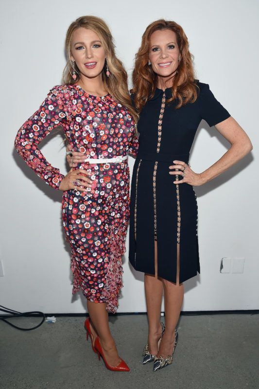 NEW YORK, NY - FEBRUARY 15:  Actors Blake Lively and Robyn Lively pose backstage before the Michael Kors Collection Fall 2017 runway show at Spring Studios on February 15, 2017 in New York City.  (Photo by Dimitrios Kambouris/Getty Images for Michael Kors)
