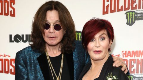 Ozzy Osbourne and Ozzy Osbourne attend the Metal Hammer Golden God Awards at Indigo at The O2 Arena on June 11, 2018 in London, England.