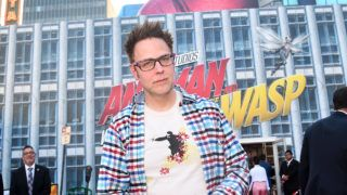 """HOLLYWOOD, CA - JUNE 25:  James Gunn attends the Los Angeles Global Premiere for Marvel Studios' """"Ant-Man And The Wasp"""" at the El Capitan Theatre on June 25, 2018 in Hollywood, California.  (Photo by Alberto E. Rodriguez/Getty Images for Disney)"""