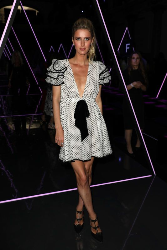 PARIS, FRANCE - JULY 02:  Nicky Hilton attends the Ralph & Russo Haute Couture Fall Winter 2018/2019 show as part of Paris Fashion Week on July 2, 2018 in Paris, France.  (Photo by Pierre Suu/Getty Images)