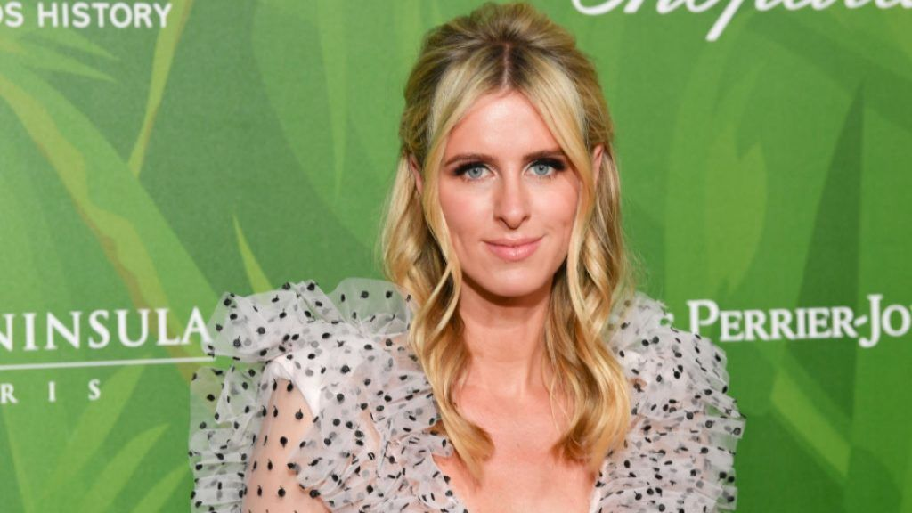 PARIS, FRANCE - JULY 04:  Nicky Hilton attends the amfAR Paris Dinner 2018 at The Peninsula Hotel on July 4, 2018 in Paris, France.  (Photo by Stephane Cardinale - Corbis/Corbis via Getty Images)